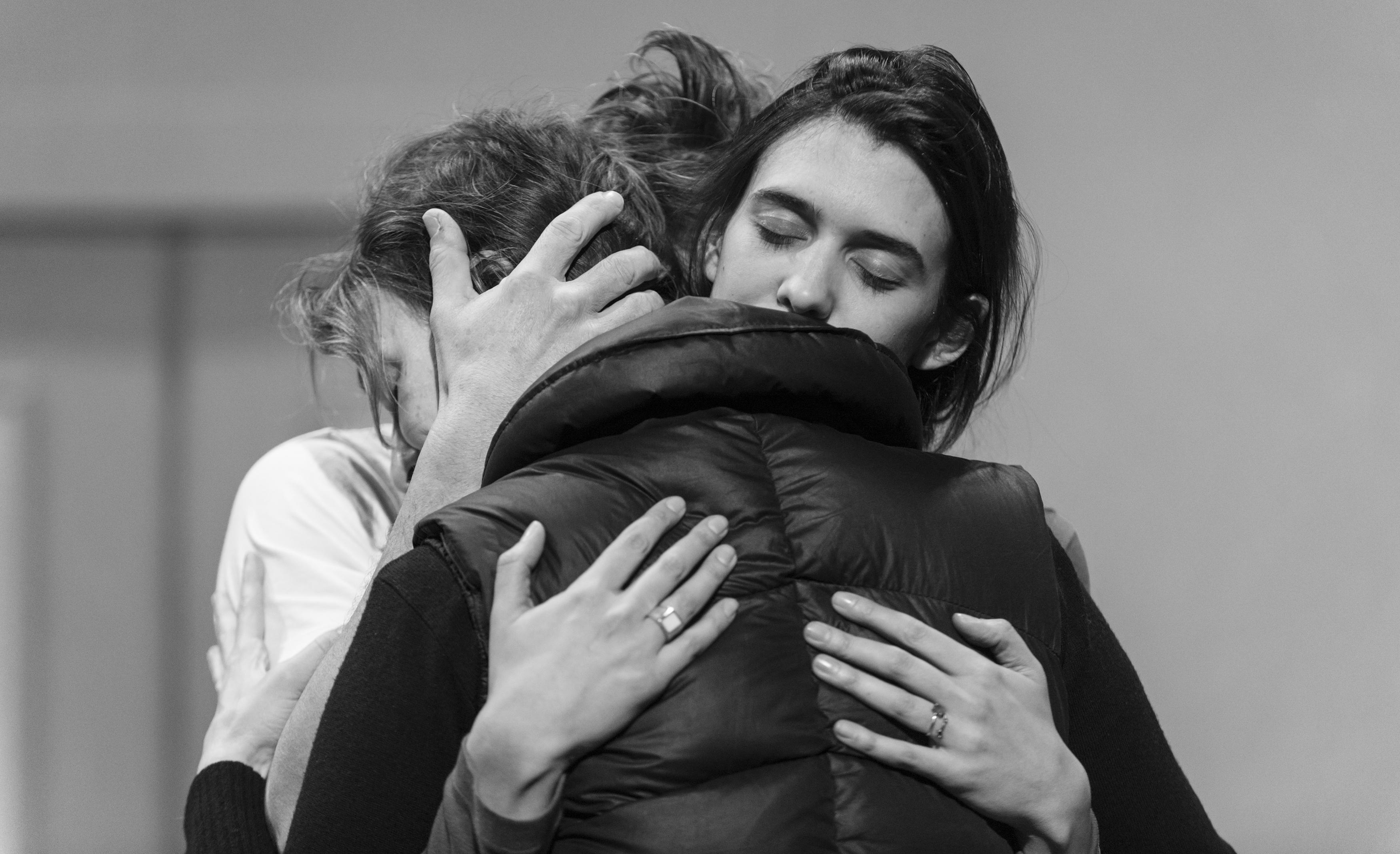 Christophe Grégoire, Camille Cayol and Valentine Catzéflis