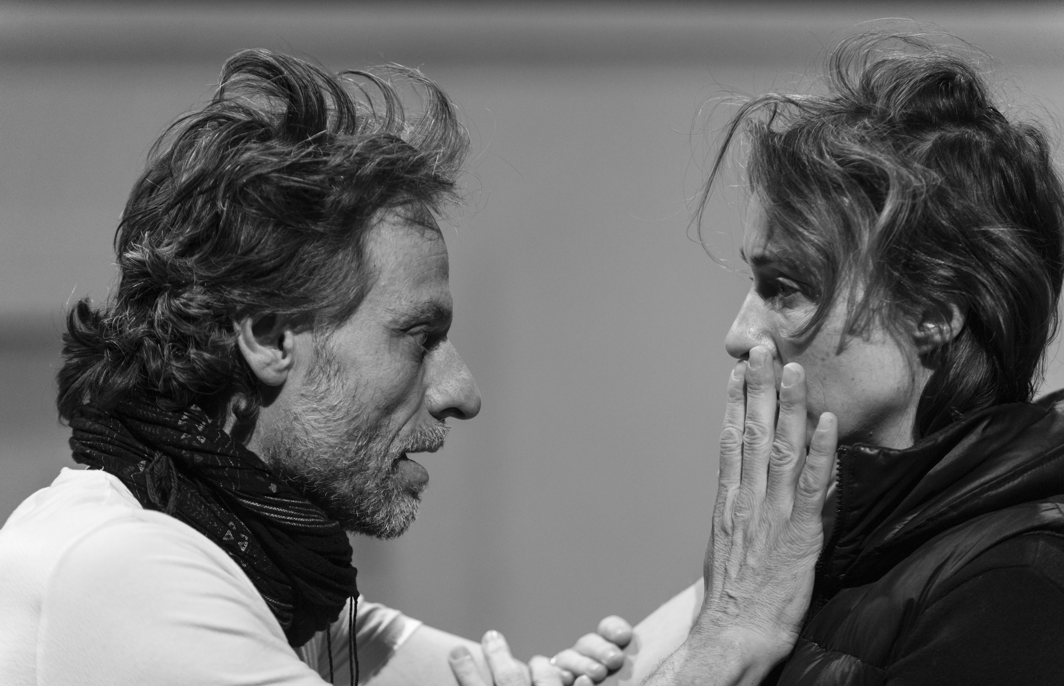 Christophe Grégoire and Camille Cayol