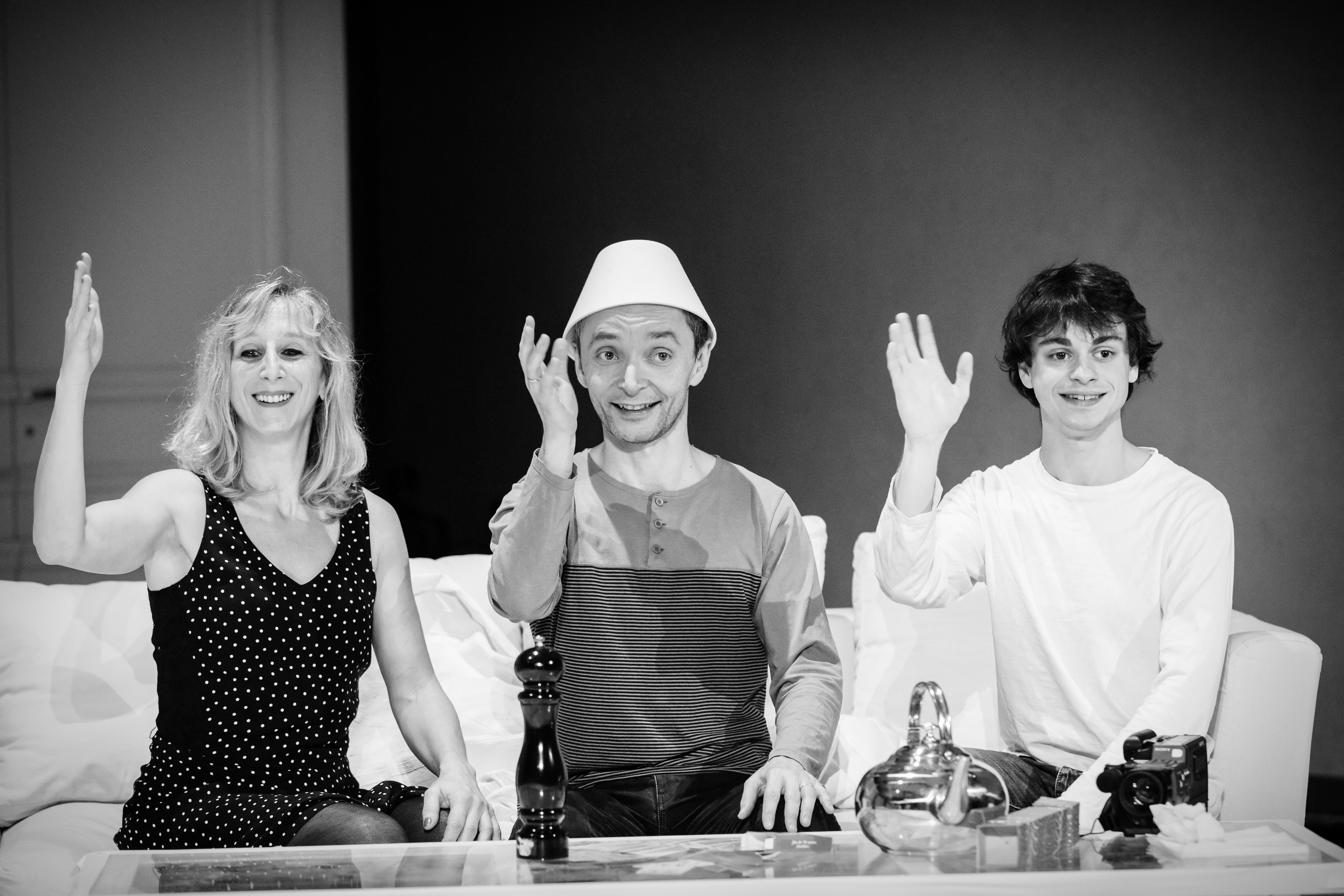 Cecile Leterme, Vincent de Bouard and Silvain Levitte