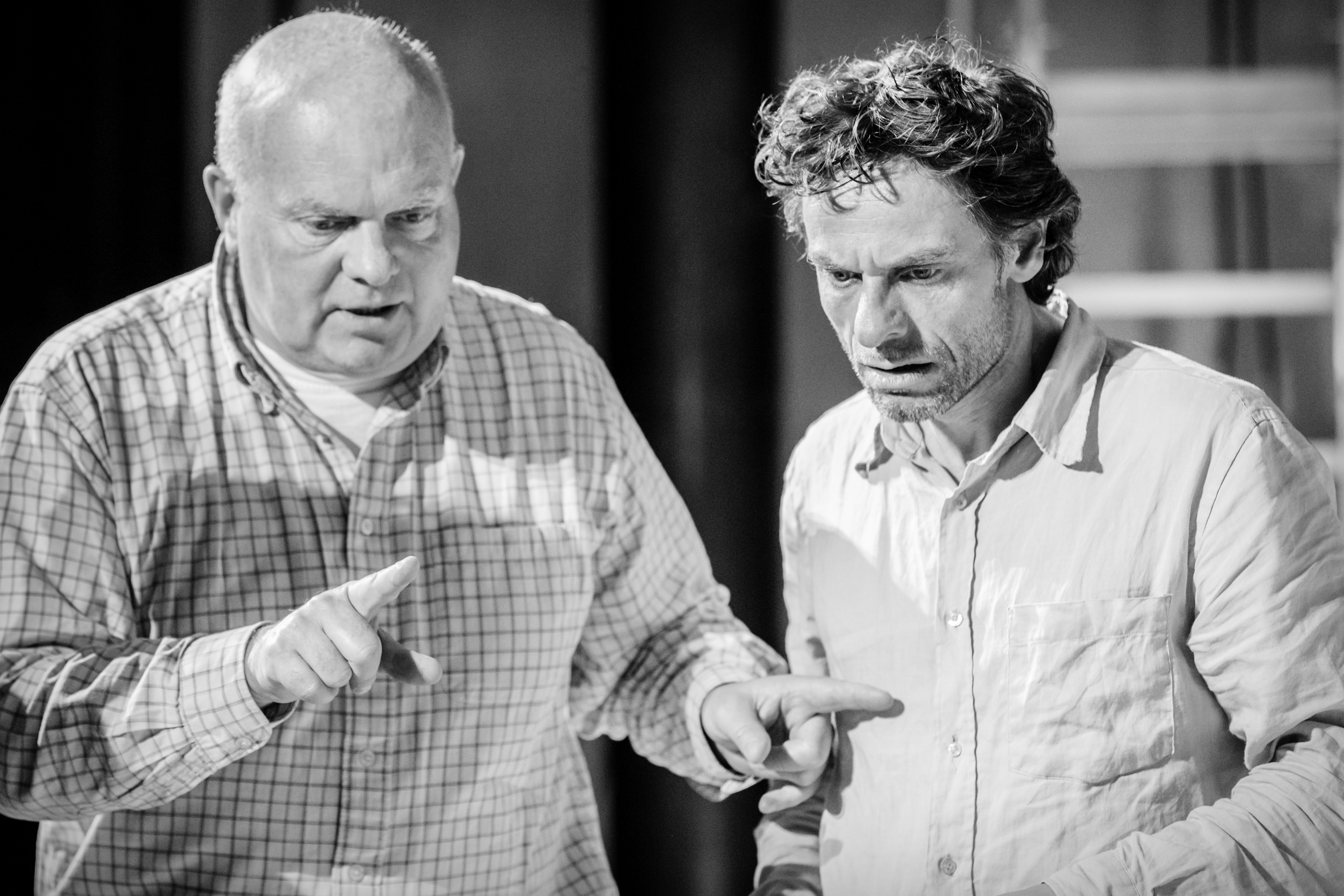 Declan Donnellan and Christophe Grégoire
