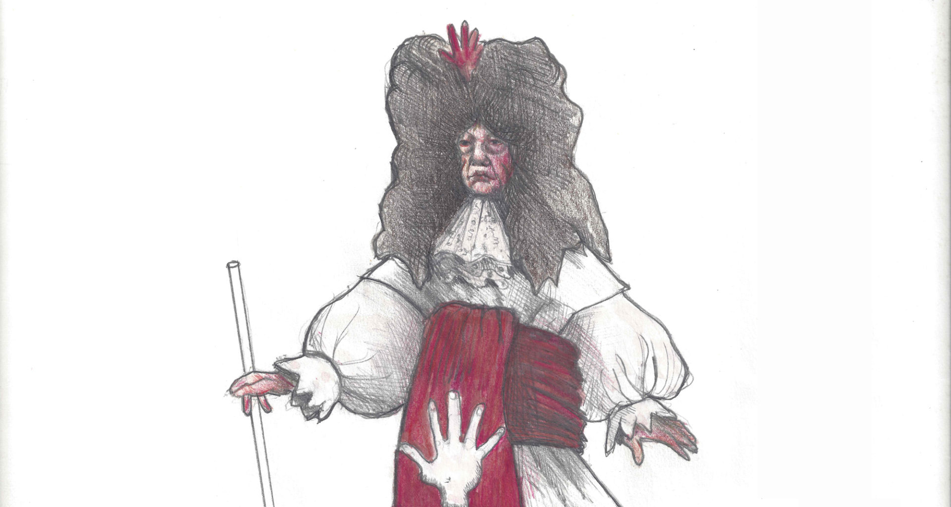 Costume design for The Country Wife (copyright Nick Ormerod)