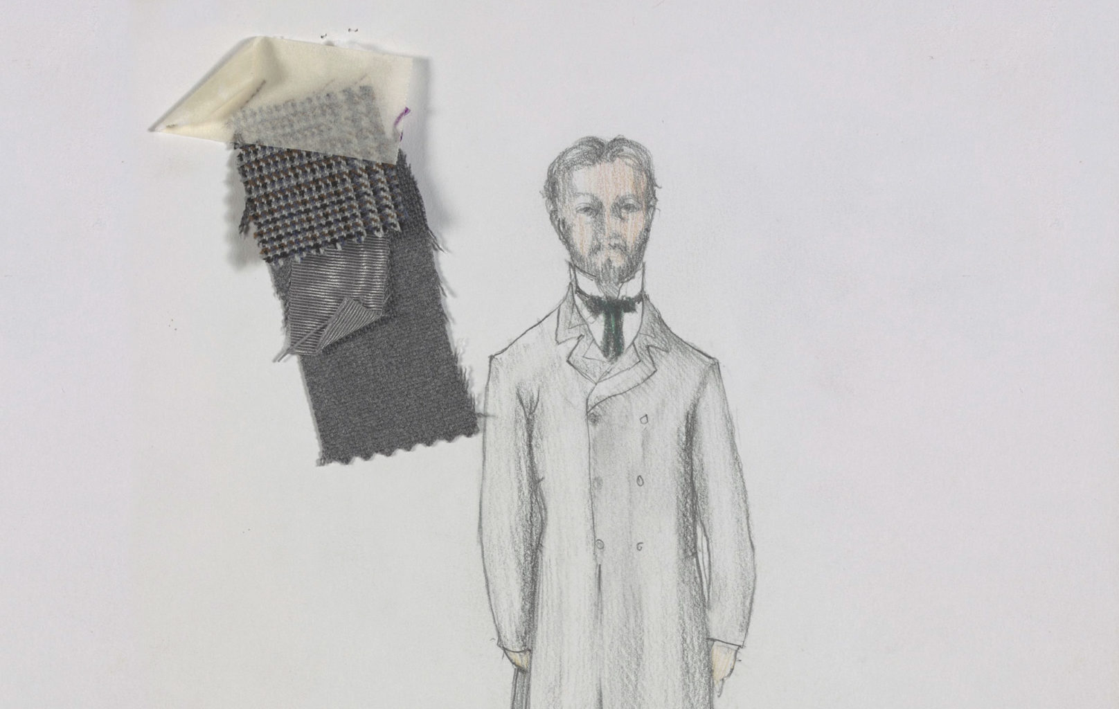 Nick Ormerod's costume and set designs for A Family Affair (copyright Nick Ormerod)