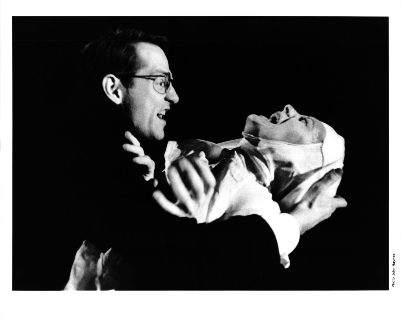 Measure for Measure 1994 black and white production photography (copyright John Haynes)