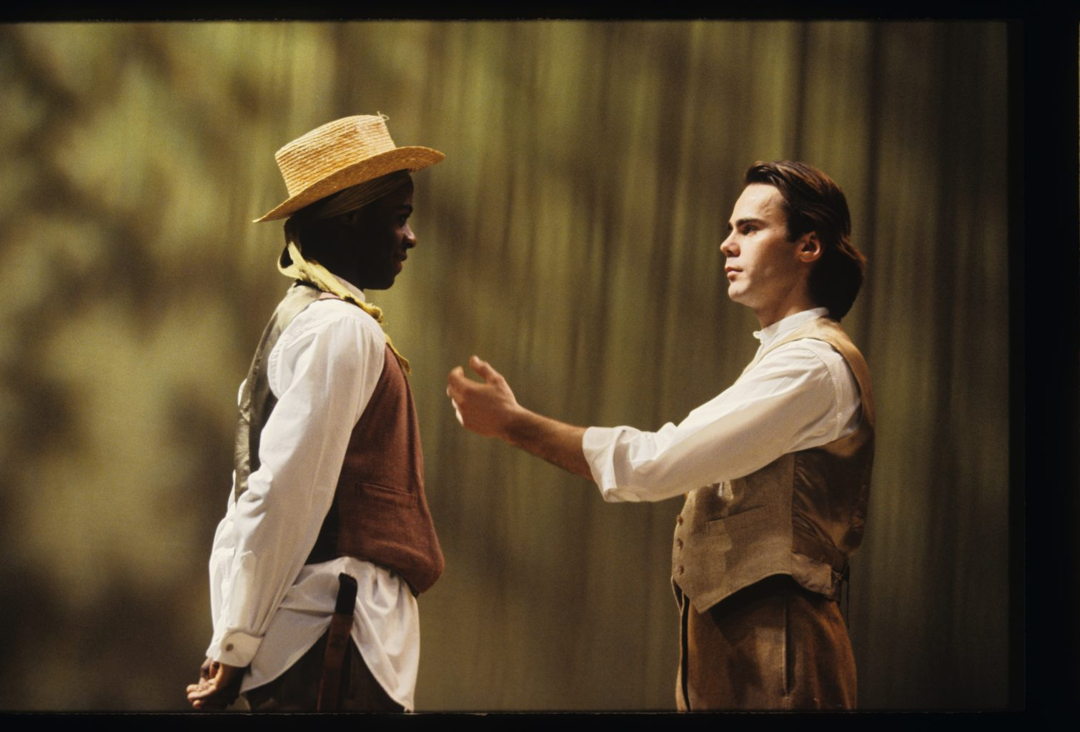 As You Like It (1991-1992) colour production photography (copyright John Haynes)