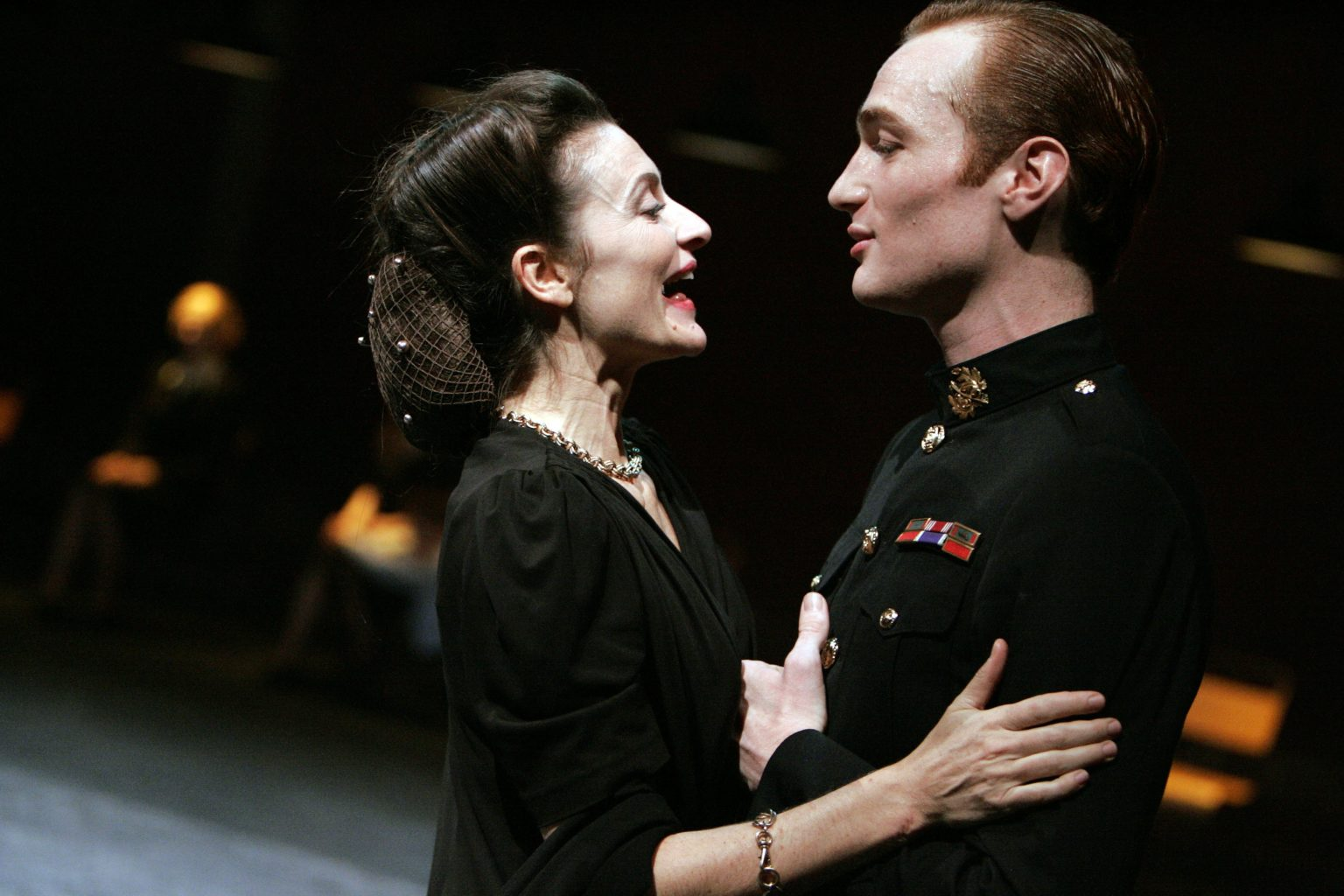 Camille Japy (Hermione) and Xavier Boiffier (Oreste) discuss the process of creating Andromaque