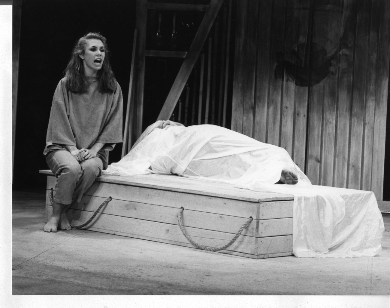 Pericles black and white production photography (copyright Peter Mares)