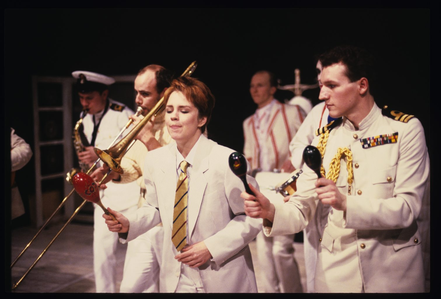 Twelfth Night 1986-1987 colour production photography (copyright Peter Mares)