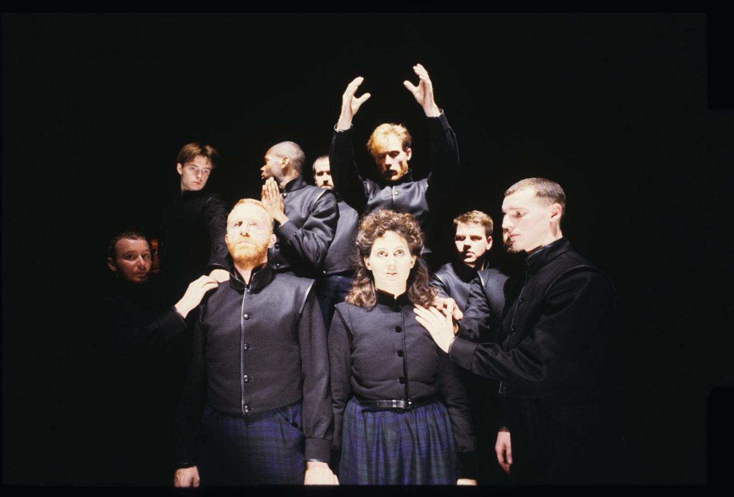 Macbeth (1987-1988) colour production photography (copyright Robert Workman)