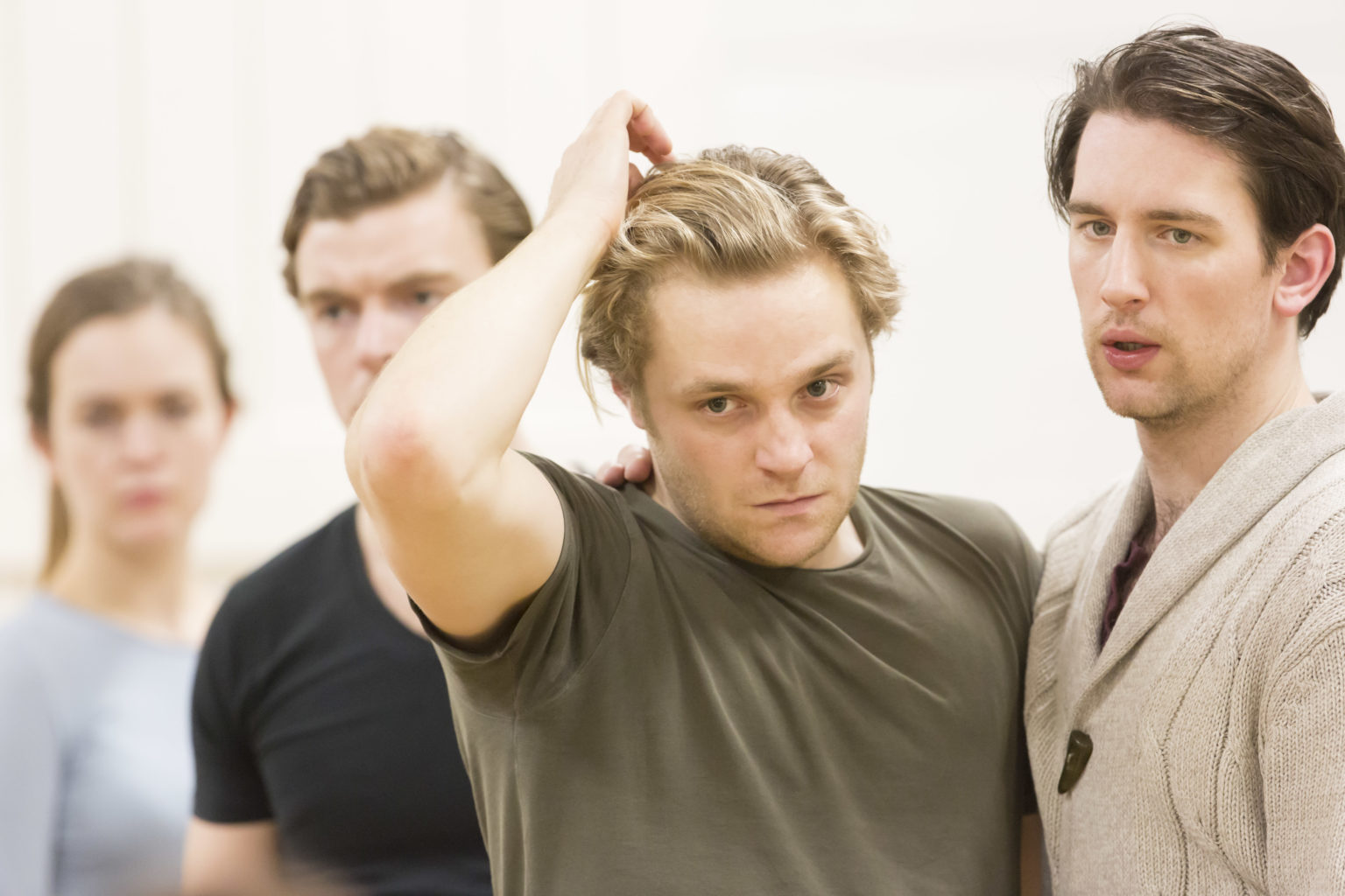 The Winter's Tale rehearsal photography (copyright Johan Persson)