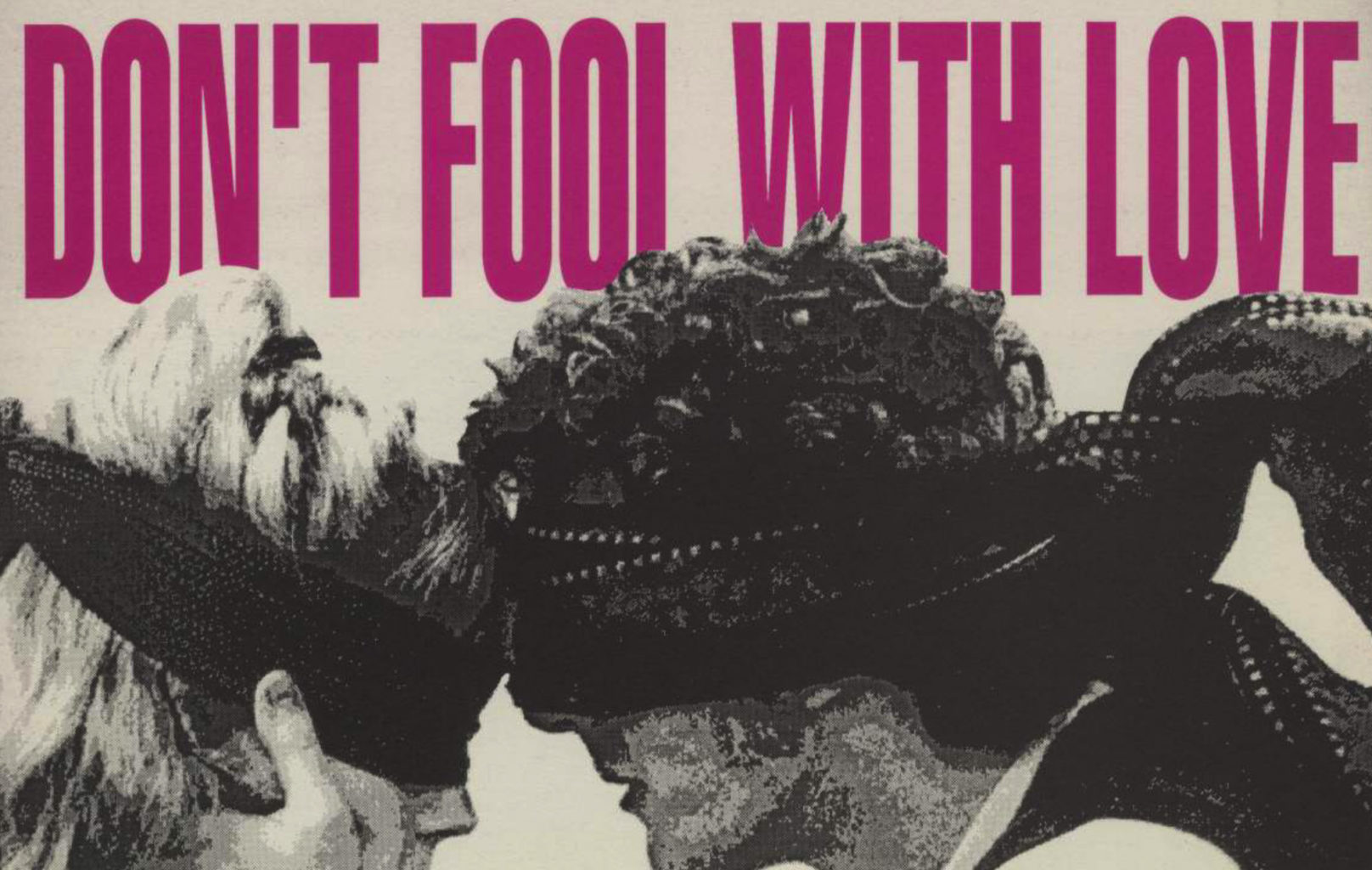 Programme for Cheek by Jowl's productions of Don't Fool With Love / The Blind Men