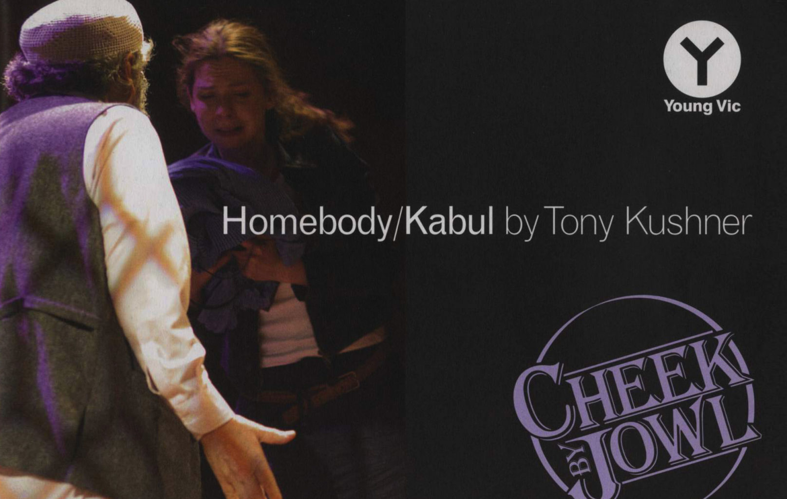 Programme for Cheek by Jowl's production of Homebody/Kabul