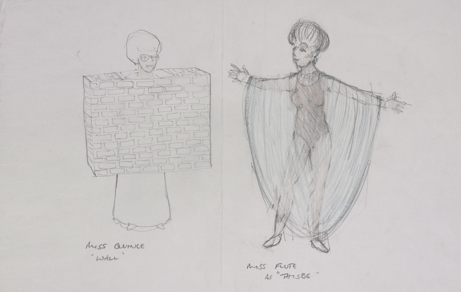 Nick Ormerod's designs for A Midsummer Night's Dream, 1985