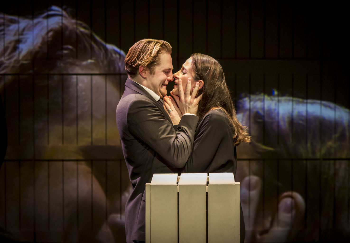 Hermione and Leontes. Natalie Radmall-Quirke and Orlando James discuss Cheek by Jowl's new production of Shakespeare's The Winter's Tale