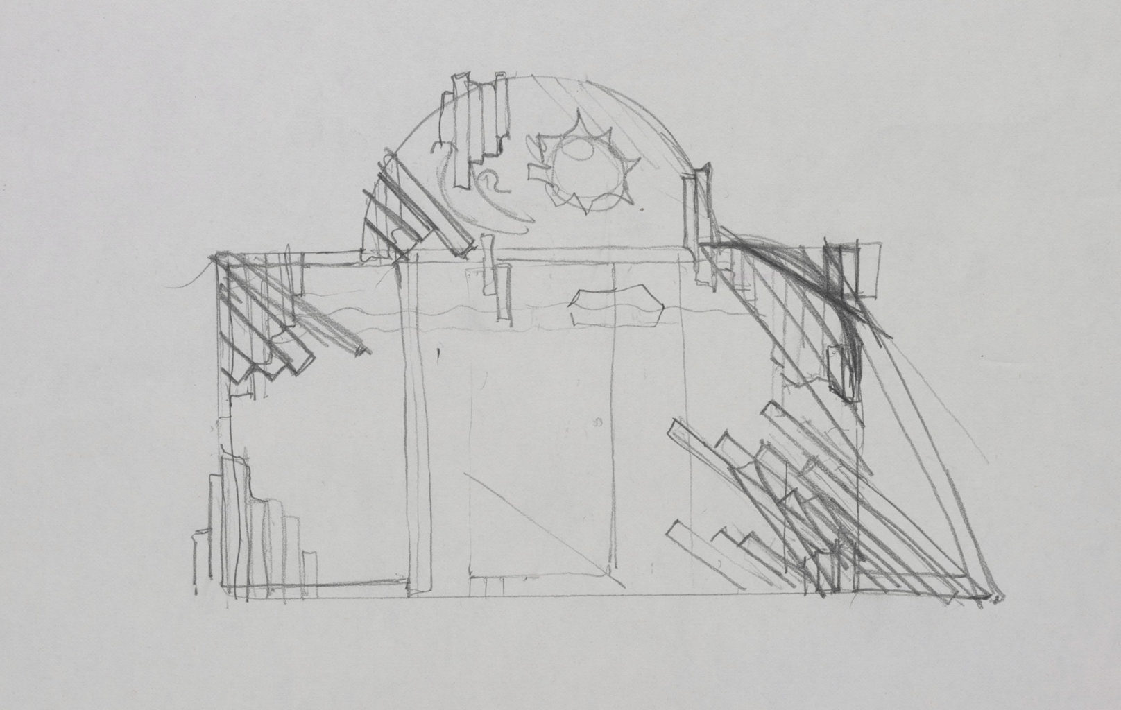 Costume and set designs for Pericles 1984-1985 (copyright Nick Ormerod)