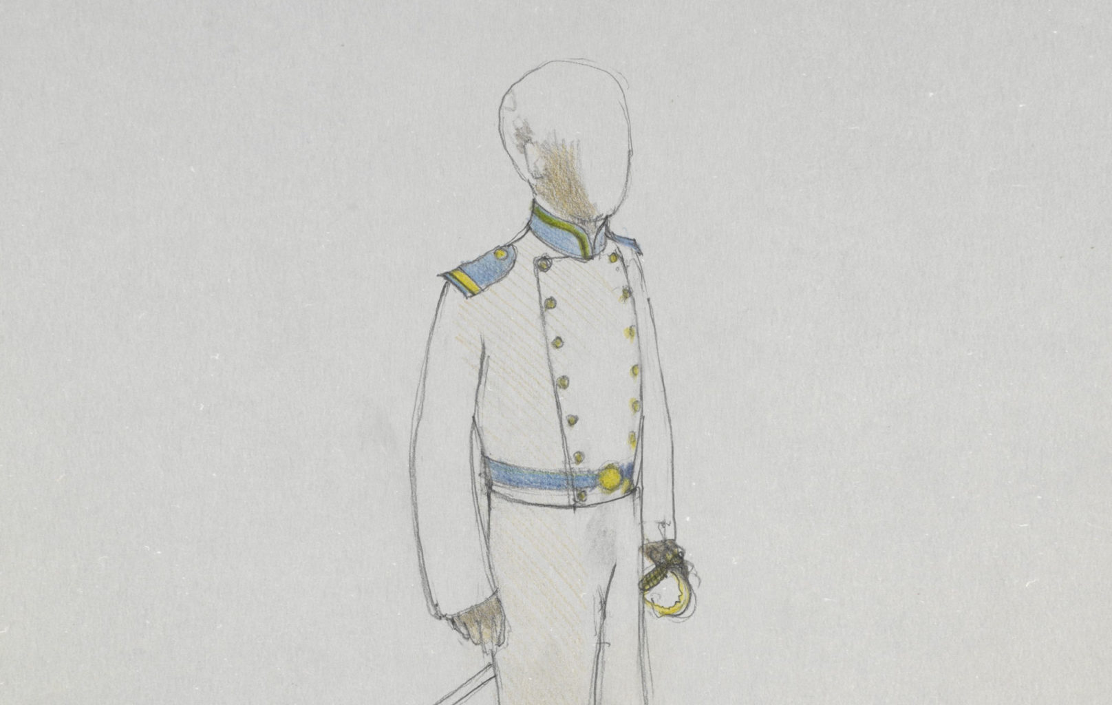 Nick Ormerod's costume designs for Philoctetes (copyright Nick Ormerod)