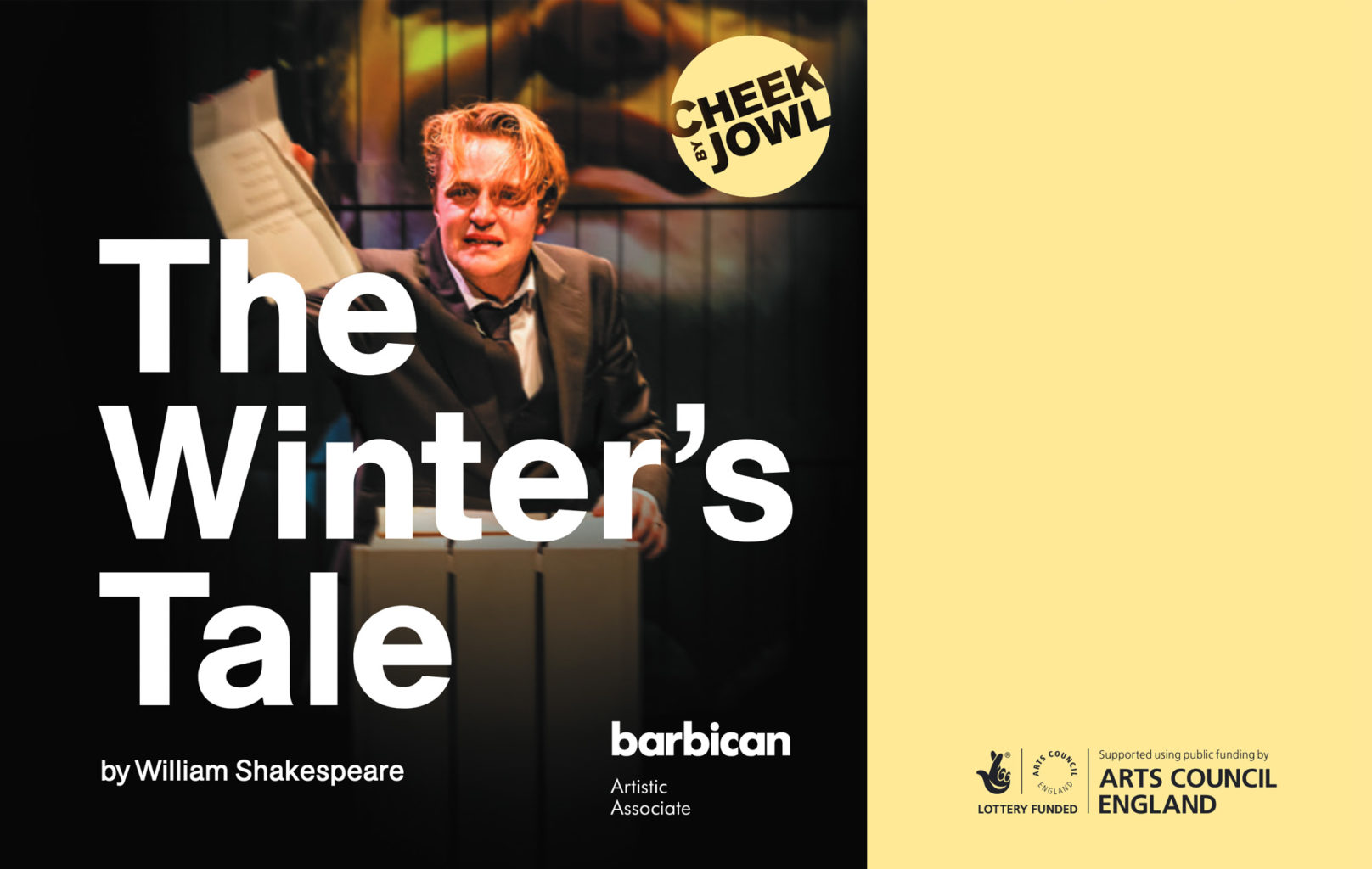 Production programme for Cheek by Jowl's production of The Winter's Tale