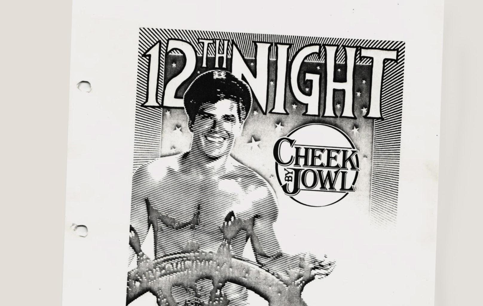 Prompt script for Twelfth Night, 1986-1987