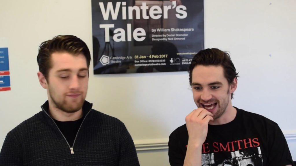 Autolycus & Young Shepherd. Sam McArdle and Ryan Donaldson discuss their characters in The Winter's Tale